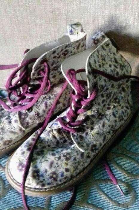 Botas Cuero Kickers N31