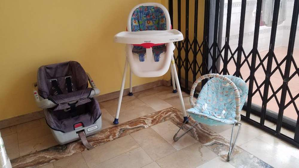 Oferta 3 Sillas Usadas para Bebe