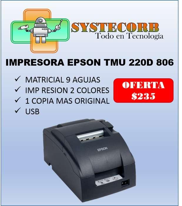 <strong>impresora</strong> EPSON TMU 220D 806