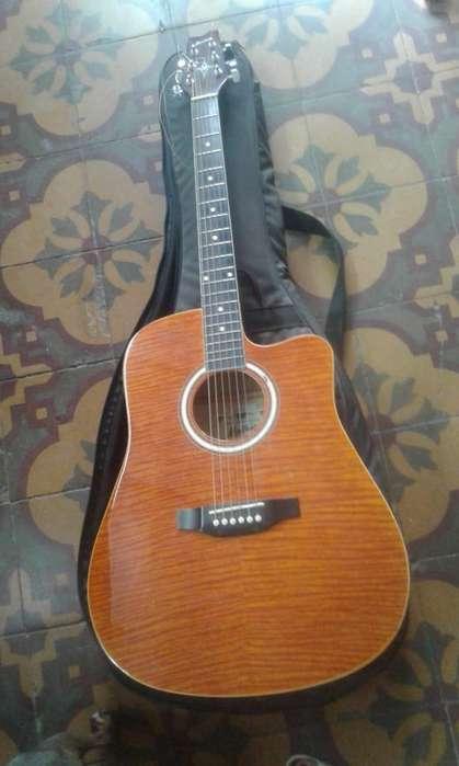 Vendo guitarra Electroacústica MONTANA