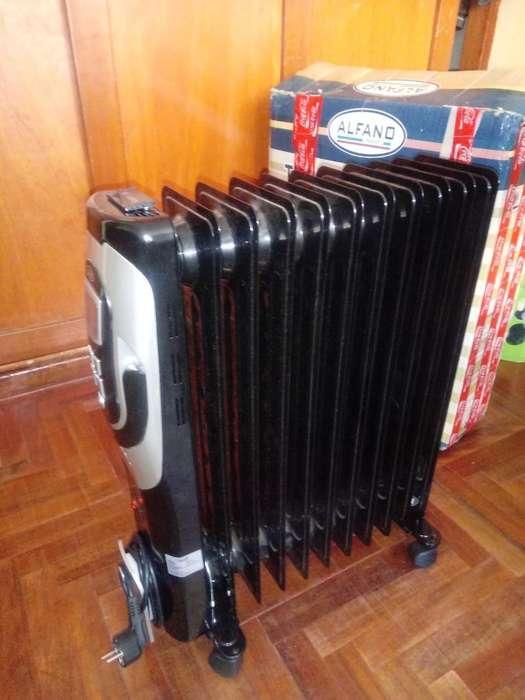 Estufa Electrica Lcd Alfano