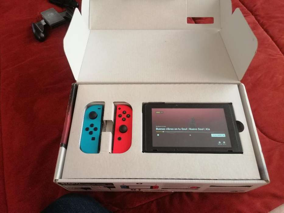 Vendo Nintendo Switch Mas Juego