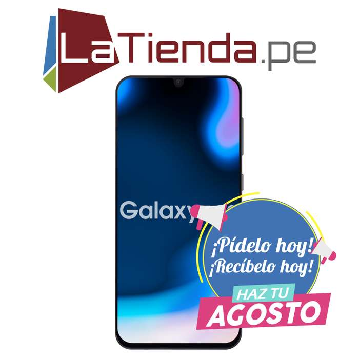Samsung Galaxy A30 - Pantalla infinity U