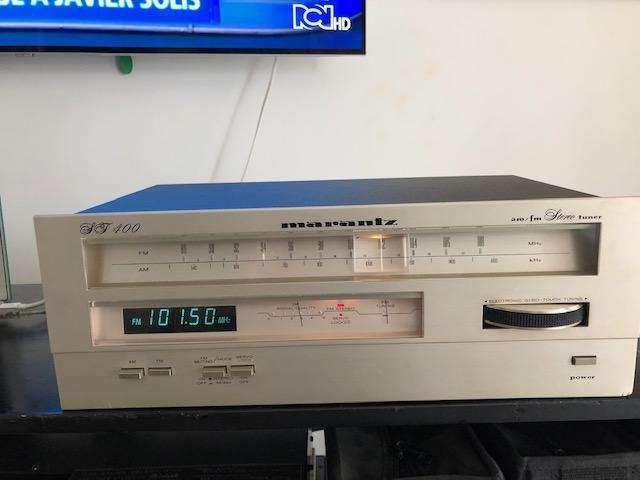 Marantz St400 Sintonizador Estereofónico Am / Fm (1980-81)