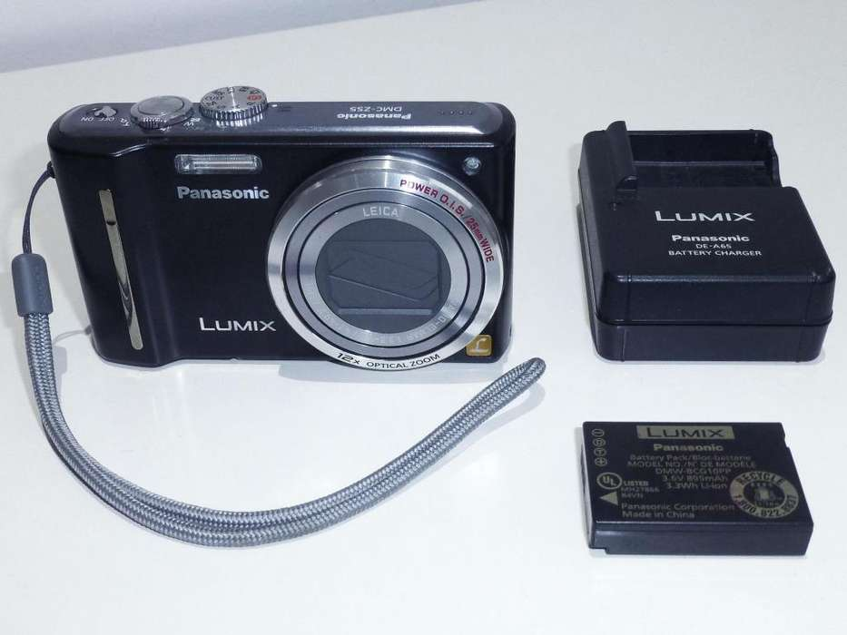 Panasonic Lumix Zs5 Cámara <strong>digital</strong> Super Zoom 30x 12mpx