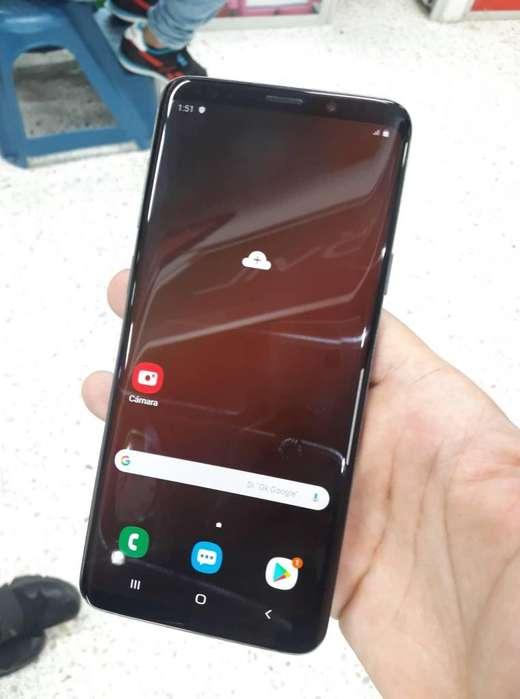 Samsung S9 Plus perfecto estado como nuevo 6gbram 64gb sumergible como nuevo factura y garantia