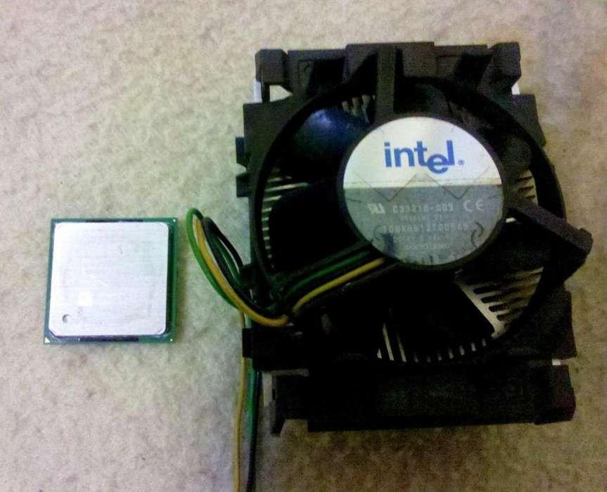 Procesador Intel Pentium4 2,4ghz. Socket 478