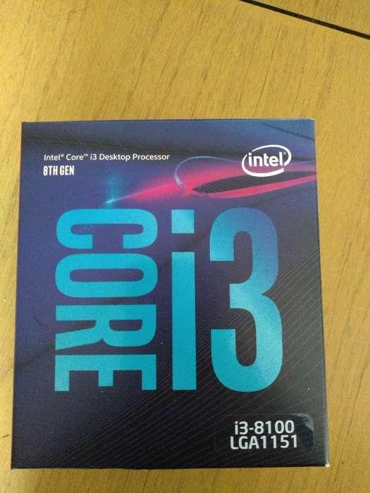 I3 8100 - Octava Generación