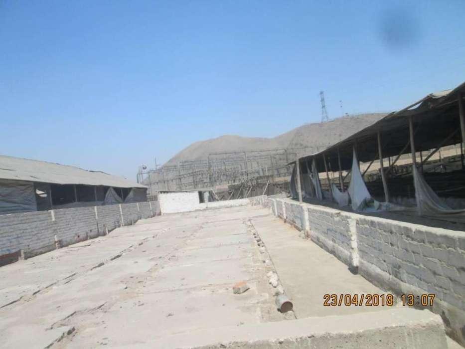 Vendo Terreno Industrial, 7000 m2 200 X2 m Cerca Gambeta Manuel