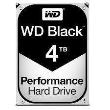 Disco Duro Western Digital Black 4 Tb 7200 rpm
