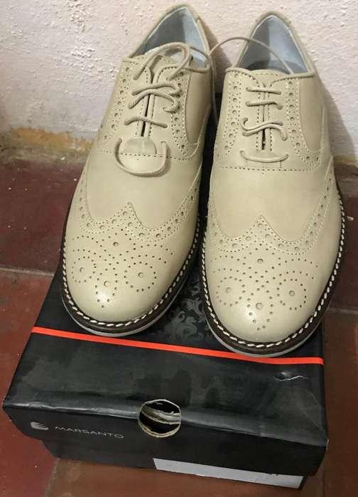 Zapatos Marsanto Beige