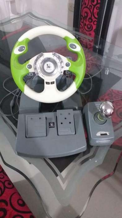 Volante Nanica Station Xbox 360 Y Pc