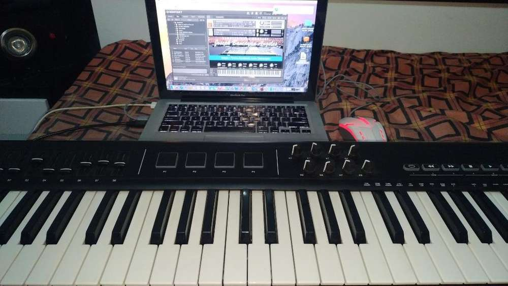 Macbook Pro Y Controlador Alesis Qx61