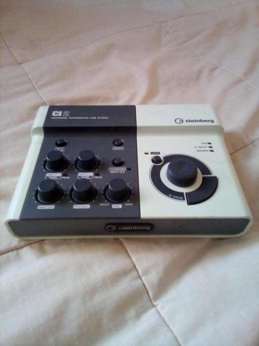 Interface USB para audio y música Steinberg