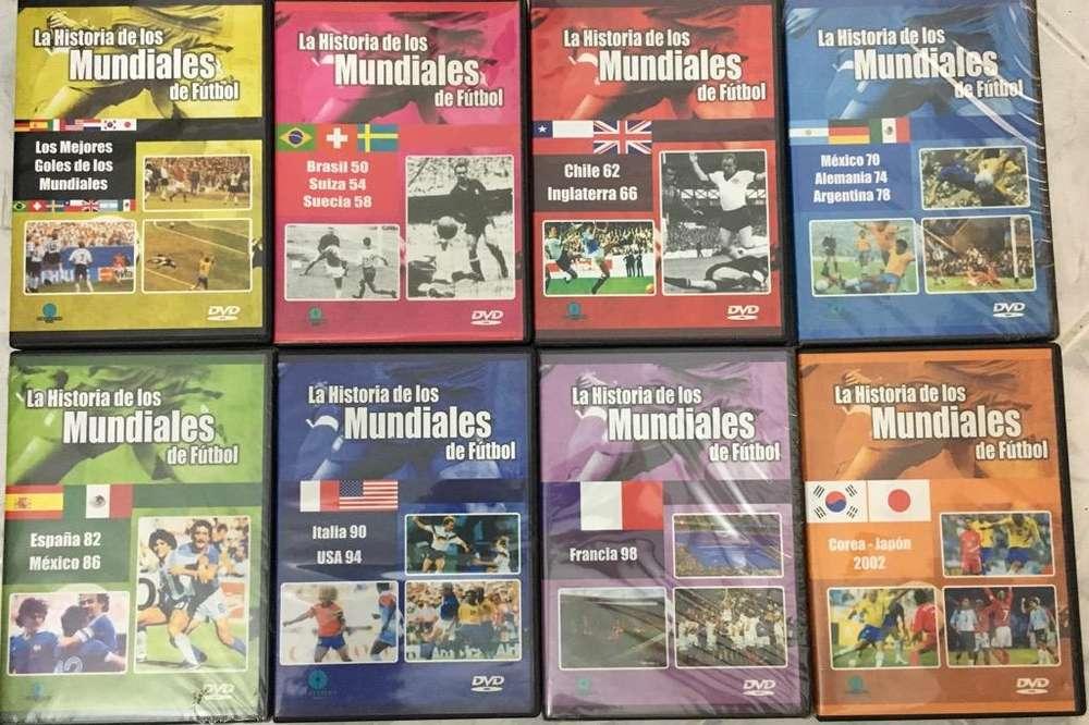 Futbol Historia de Los Mundiales Dvd