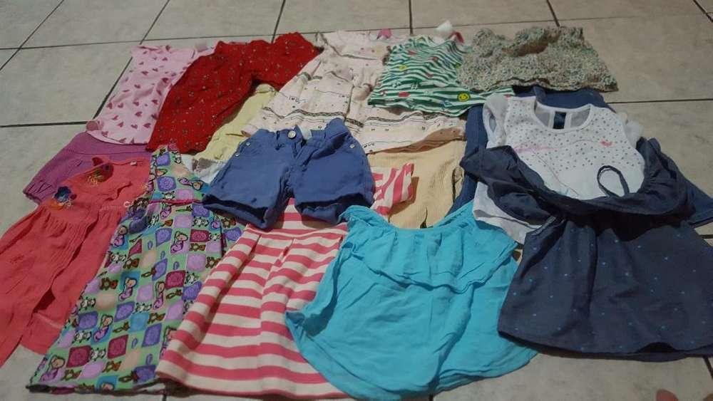 Lotecito de <strong>ropa</strong> de Niña de 12 a 24 Mese
