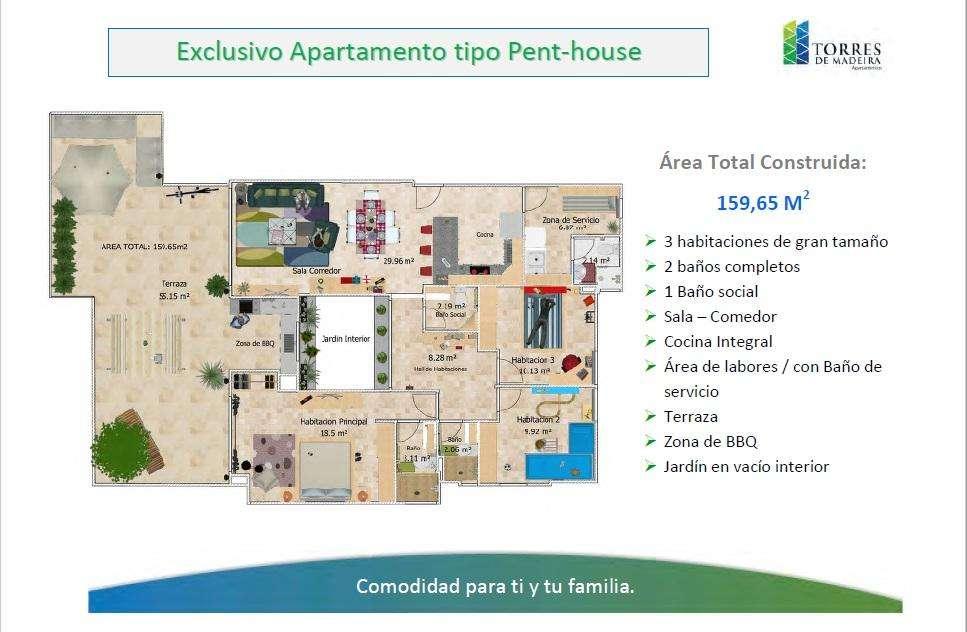 Vendo PENTHOUSE en Recreo, Cartagena - wasi_1258922
