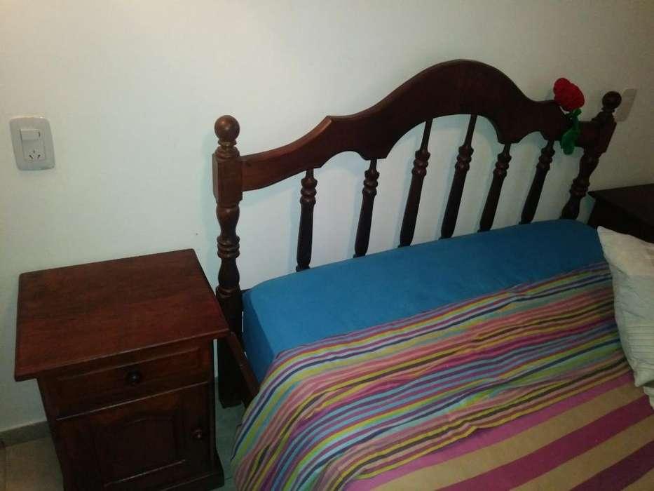 Juego de <strong>dormitorio</strong> de Algarrobo