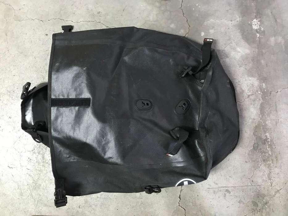 Mochila Porta equipaje para <strong>bicicleta</strong>. Alemana Fahrradtasche City roller