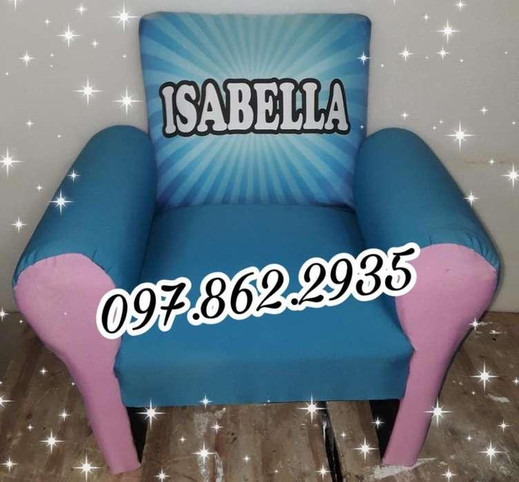 Sofa Infantil Personalizado