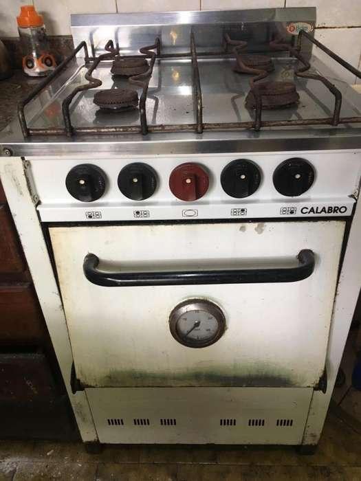 cocina horno con ladrillos refractarios
