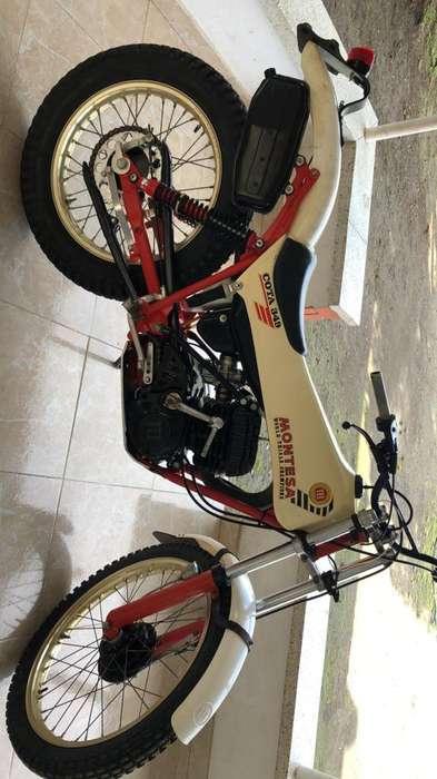 Moto de Trial Montesa Vieja Guardia