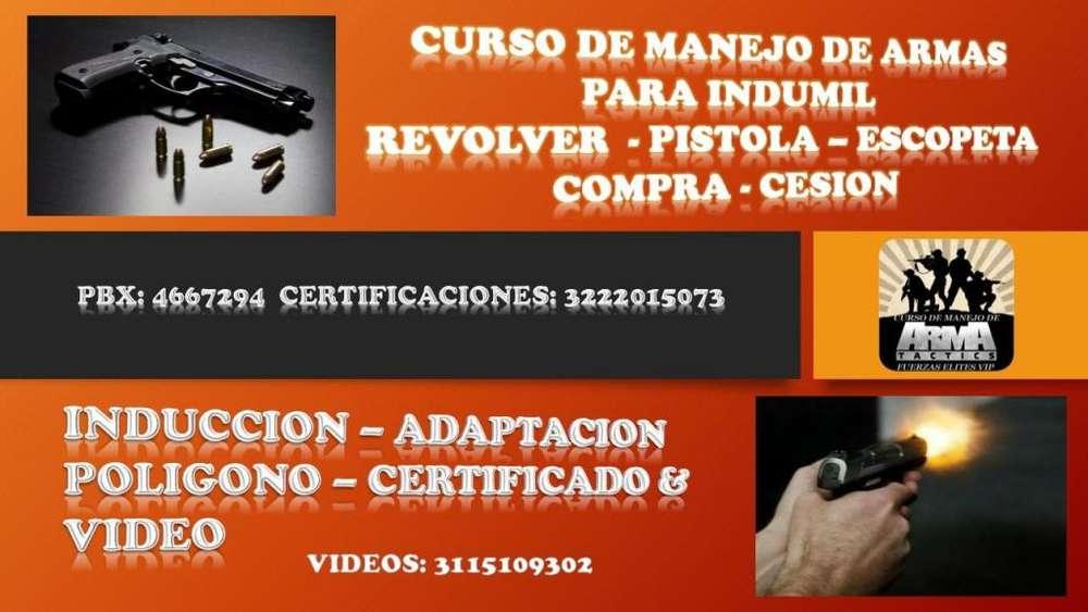 CURSO VALIDO PARA INDUMIL C/VIDEO EN BOGOTÁ