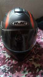 vendo campera de moto y casco rebatible
