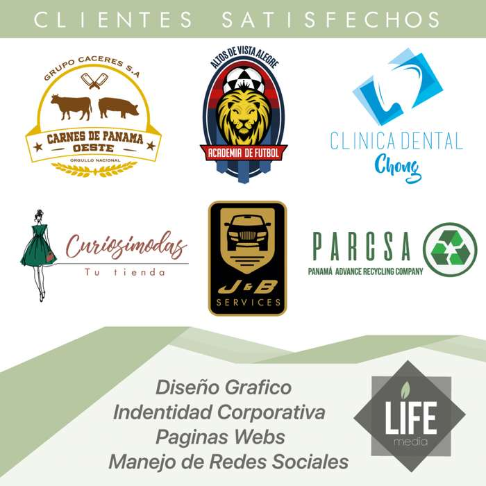 Logos Redes Sociales Paginas Webs Marketing