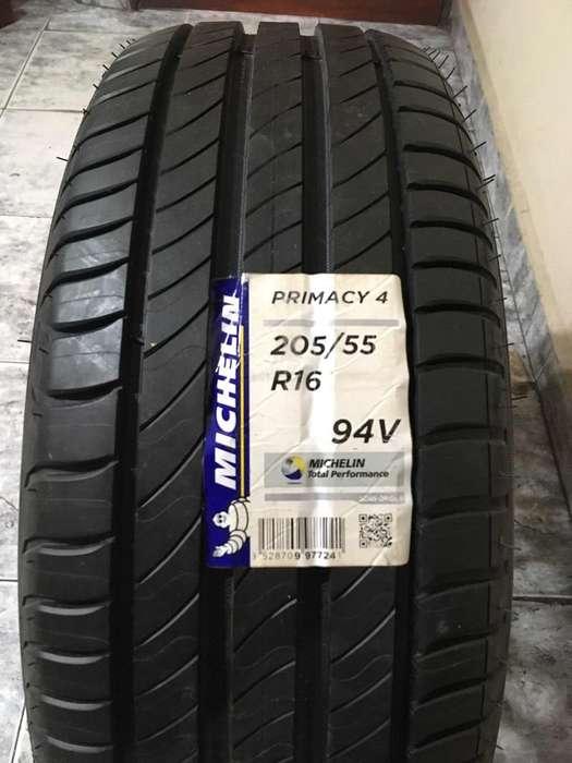 Cubierta Y Llanta Michelin 205 55 R16P
