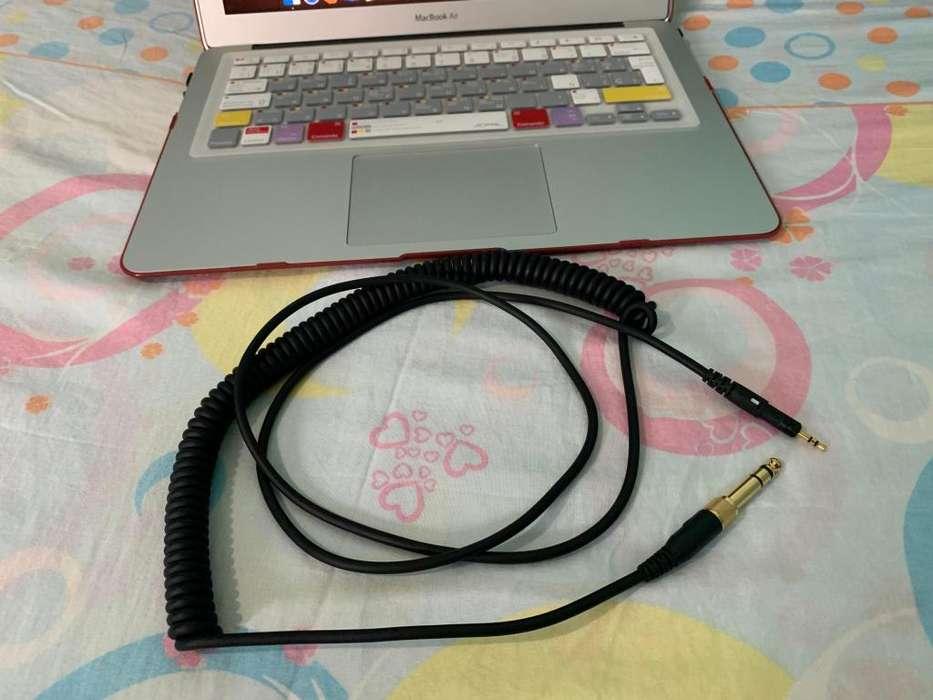 Cable Original Espiral Audio Technica serie M