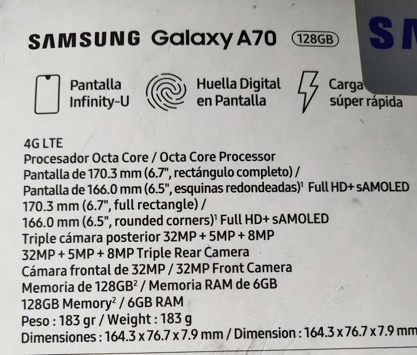 <strong>samsung</strong> Galaxy A70