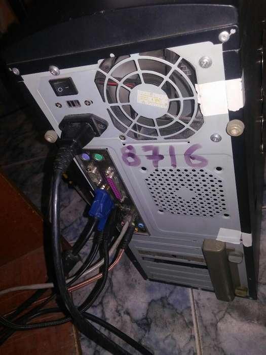 Computador Completo Disco 250g 2ram Duo