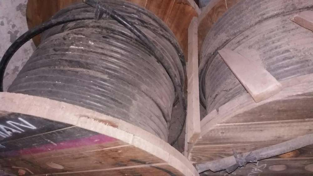 Cable subterraneo MT 1x35 Cu 132KV PRYSMIAN.