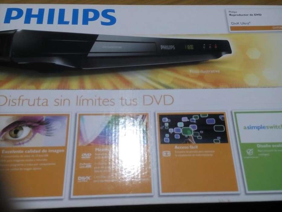 Reproductor de DVD Phillips DVIX . no trae usb