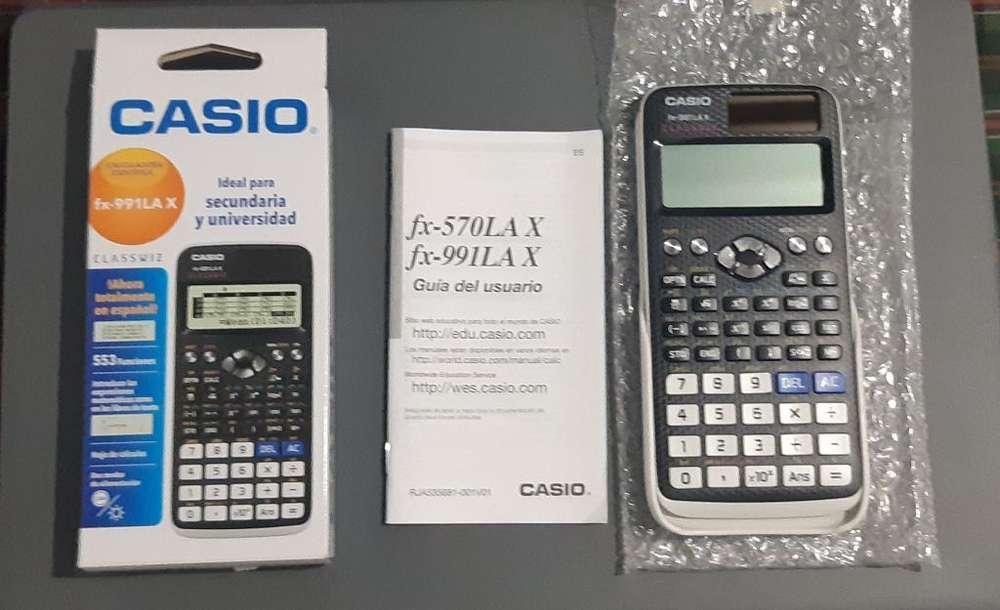 <strong>calculadora</strong> Cientifica Fx-991la X