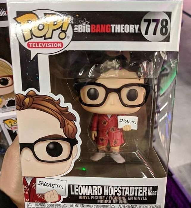 The Big Bang Theory Funko Pop