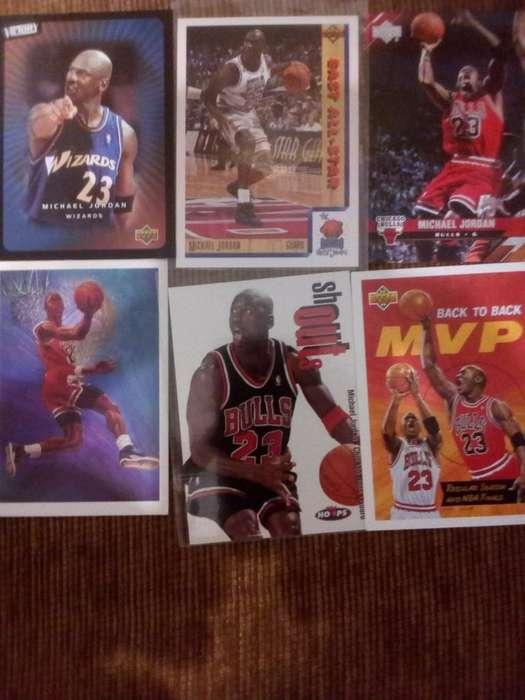 Michael Jordan Basketball Tarjetas
