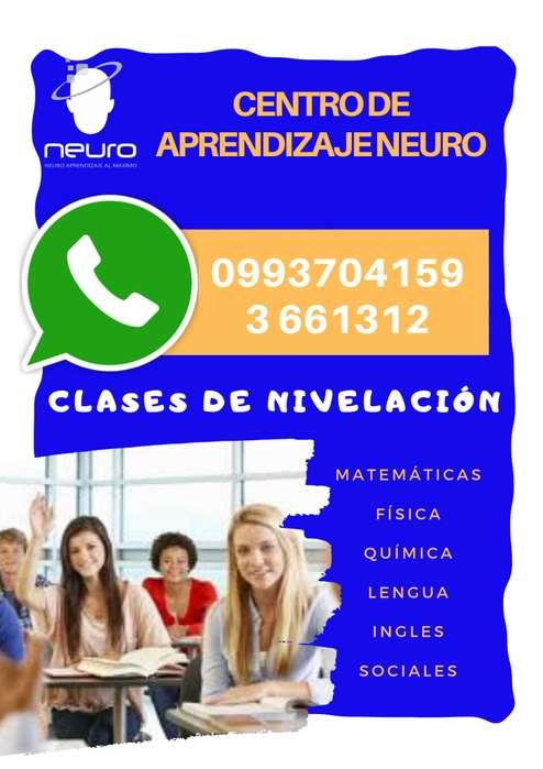 MATEMÁTICAS CURSOS CLASES DE NIVELACIÓN MATEMÁTICAS // FÍSICA // QUÍMICA
