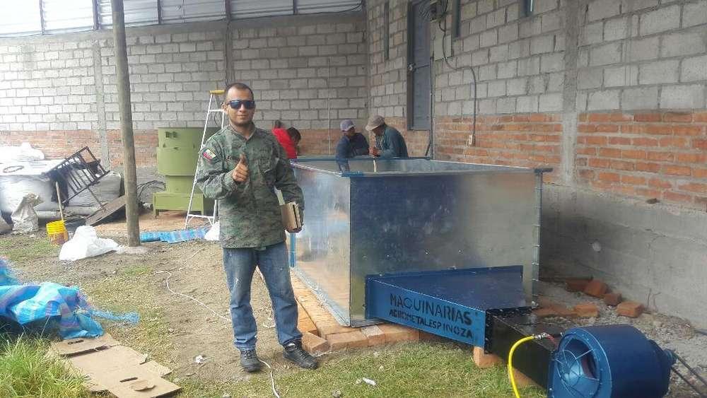 Secadora de Granos con Quemador a Gas