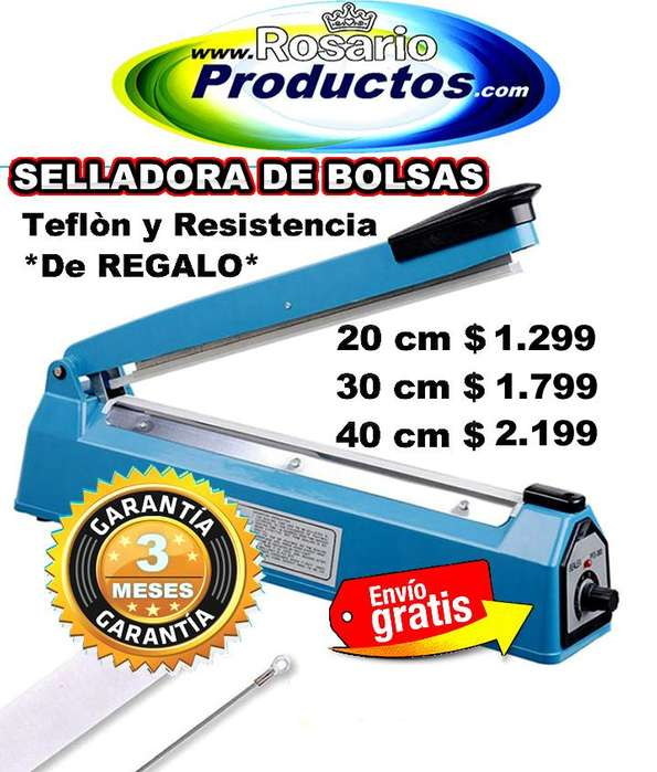 SELLADORA DE BOLSAS 40 cm