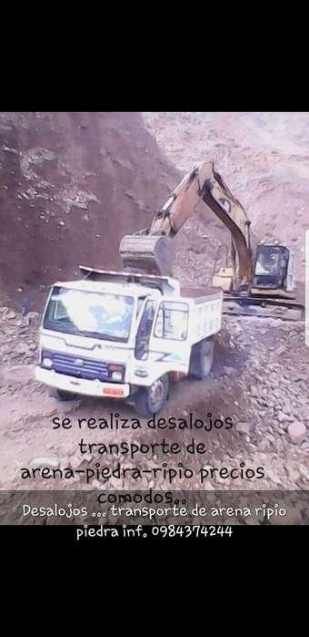 Transporte de Materiales Y Mudanza