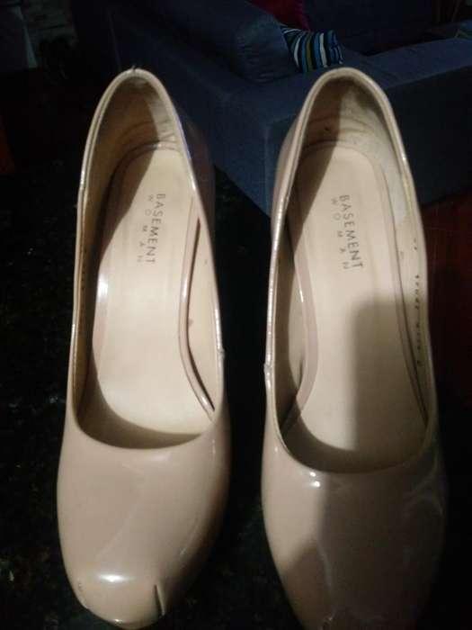 Zapatos Tacon Talla 37