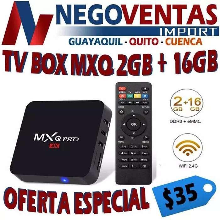 TV BOX MXQ 2GB CONVERTIDOR DE TV A SMART