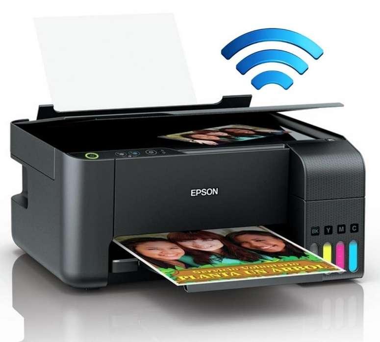 Impresora Epson Multifuncional L3150 Wifi NUEVA