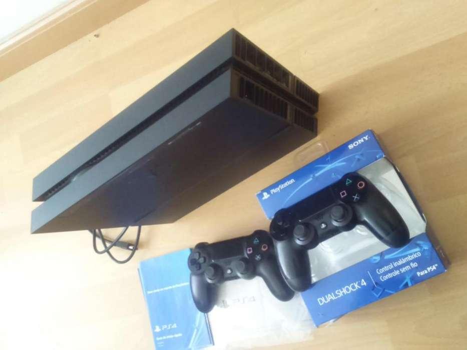Vendo consola PS4 500 GB