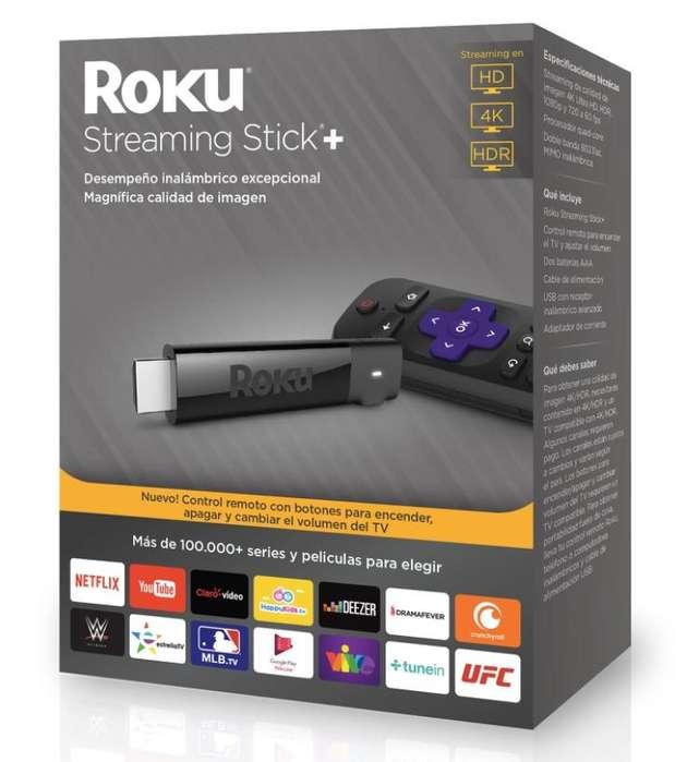 Se vende Roku Streaming Stick 4 Black Nuevo