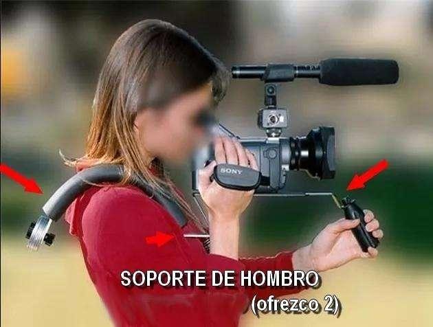 Soporte De Hombro Dslr Profesional P Camaras Reflex Y Video