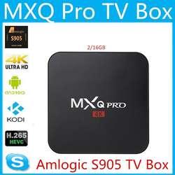 Smart Tv Box Mxq Pro Ram 2gb 16gb 4k Chrome Android 7 Cast