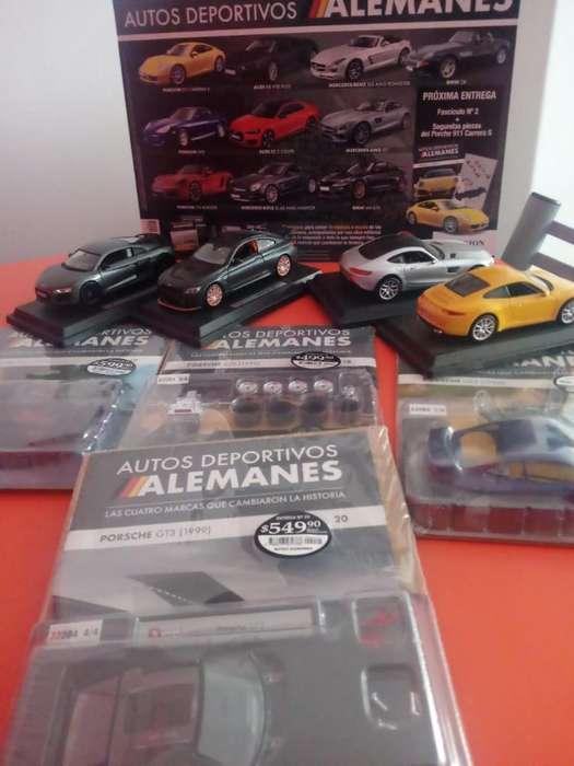 Vendo Coleccion Autos Alemanes.